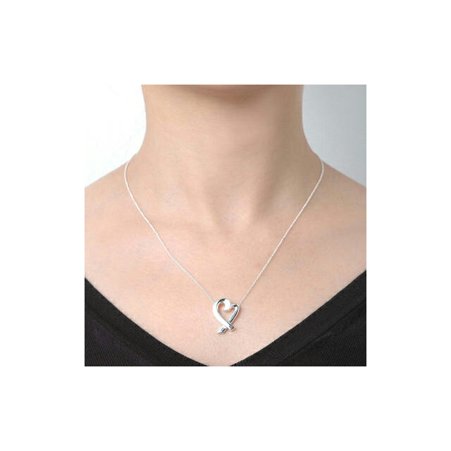 e4b29530d Tiffany Large Heart Pendant Necklace - Pendant Design Ideas