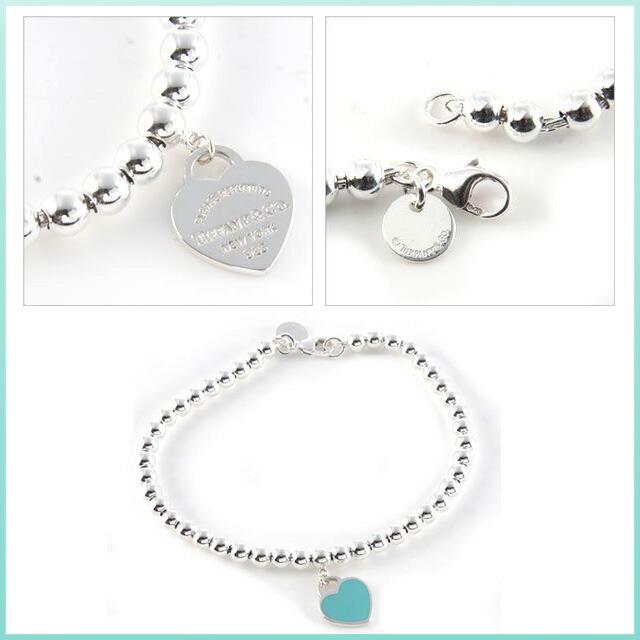 0ef5fa6e6 Salada Bowl: Tiffany tiffany mini-heart tag beads bracelet medium ...