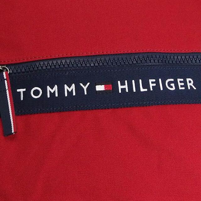 トミー ヒルフィガー TOMMY HILFIGER バックパック リュックサック レッド+ネイビー キャンバス BACKPACK thf-6929787-649