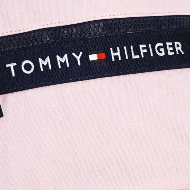 トミー ヒルフィガー TOMMY HILFIGER バックパック リュックサック ライトピンク+ネイビー キャンバス BACKPACK thf-6929787-661