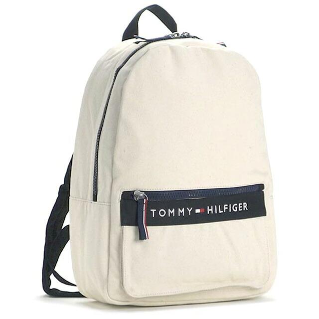 トミー ヒルフィガー TOMMY HILFIGER バックパック リュックサック ライトピンク+ネイビー キャンバス BACKPACK thf-6929787-990