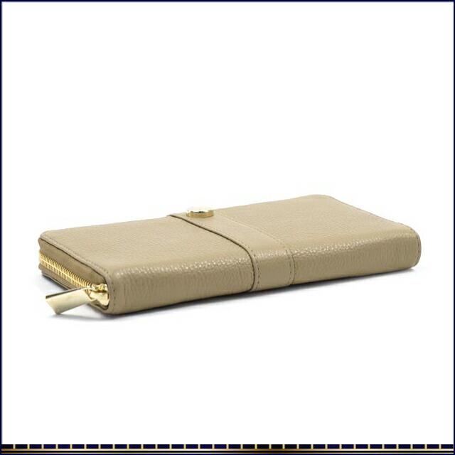 フルラ PIPER XL ZIP AROUND ファスナー小銭入れ付 ラウンドファスナー式長財布 PN11 745886 キャメルベージュ