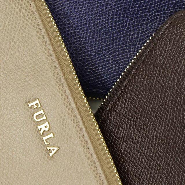 フルラ FURLA ポーチセット ISABELLE EI20 757084 ベージュ+ダークブラウン系+ブルー CARAMELLONOISETTENOTTURNO
