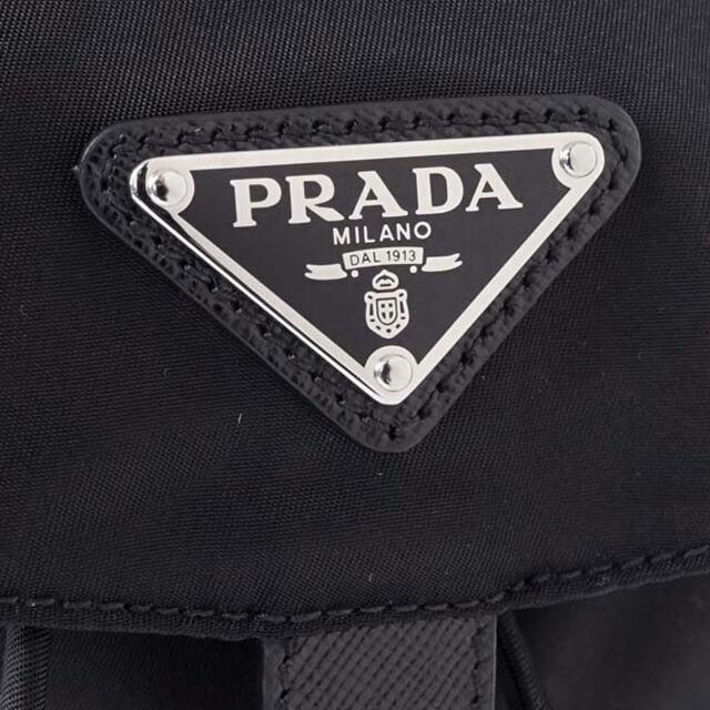 プラダ PRADA 1BZ032 V44 F0002 リュックサック リュック バックパック ネロ NERO ブラック+シルバー