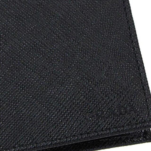 プラダ PRADA 二つ折り財布 ブラック