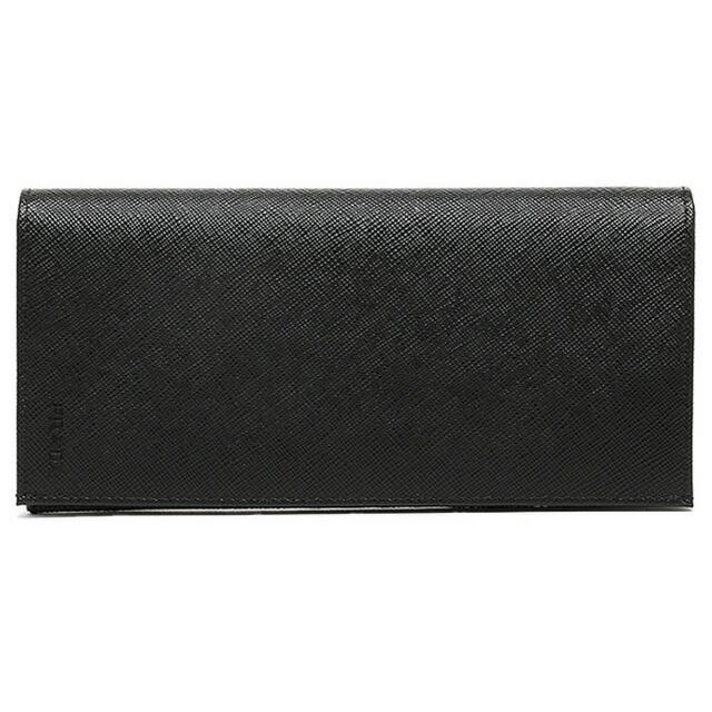 プラダ PRADA 長財布 ブラック