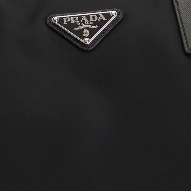 プラダ PRADA 2VG906 064 F0002 2WAY トートバッグ ハンドバッグ 斜めがけショルダーバッグ ネロ NERO ブラック+シルバー