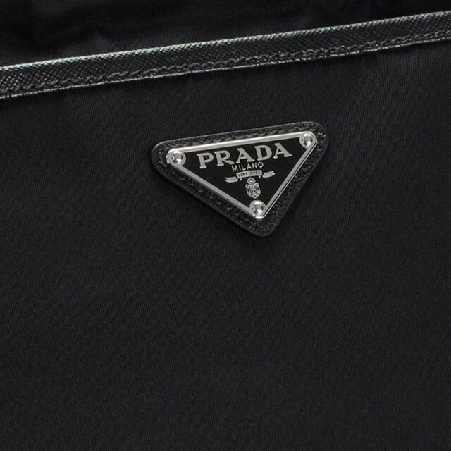 プラダ PRADA 2VH797 064 F0002 ショルダーバッグ 斜めがけショルダーバッグ ポシェット ネロ NERO ブラック+シルバー