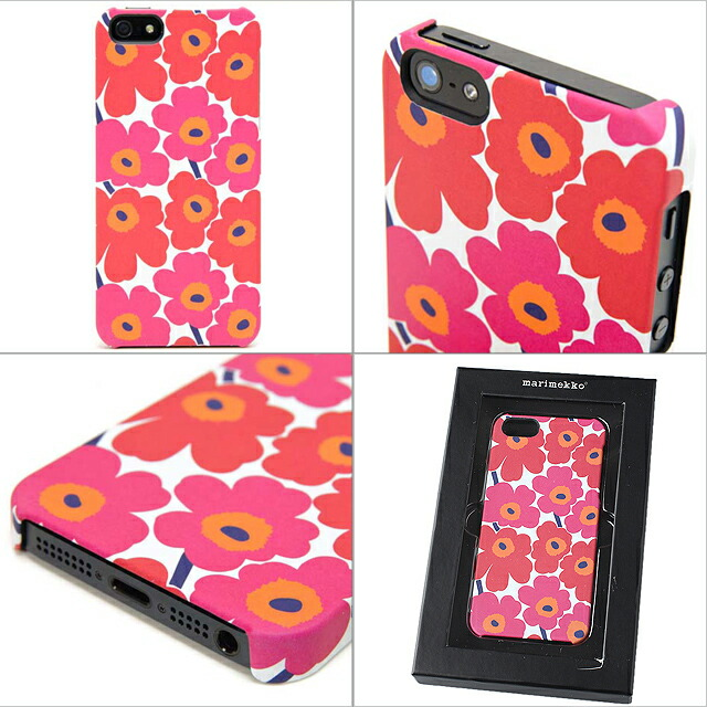 huge selection of 01cf1 22807 5 marimekko iPhone5 case regular article marimekko iPhone5s cover eyephone  UNIKKO COVER ハードケースウニッコレッド 039536 001