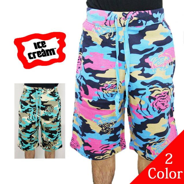 95367ed9002b ICECREAM CRIMIE スラッシャー アイスクリーム TC Camo Shorts ショート ...