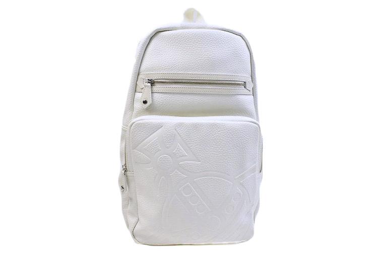 ヴィヴィアン ウエストウッド リュック バッグ メンズ Vivienne Westwood 白 ホワイト ハミルトン ORB 日本製 | 男性 紳士 ギフト VWB593 送料無料 【あす楽】