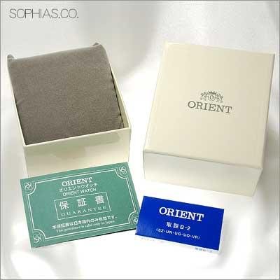 オリエント ORIENT 腕時計 国内正規品 付属品 オリジナル化粧箱 画像