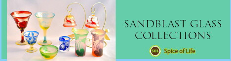SANDBLAST GLASS COLLECTIONS
