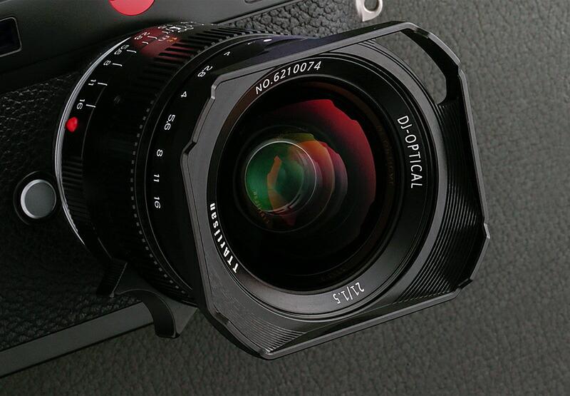 TTArtisanから21mmF1.5の大口径レンズ