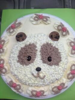 手作りアイスケーキ・ラッキーパンダくん6号