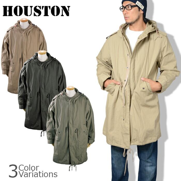 HOUSTON(ヒューストン) M51 PARKA モッズ パーカー (ライナー付)5409M