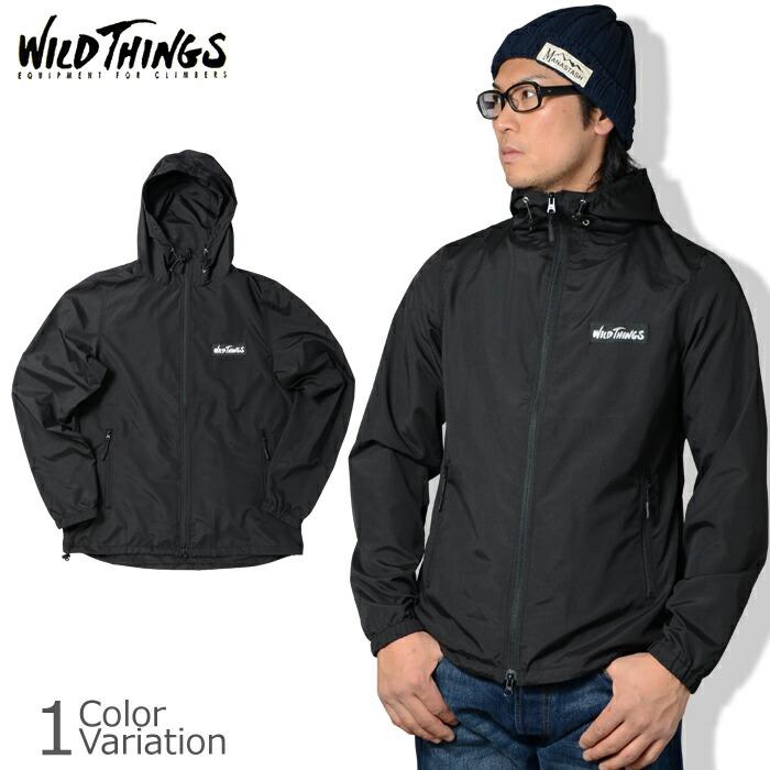 WILD THINGS(ワイルドシングス) HOODED JACKET フーデッドジャケット WT18025AD