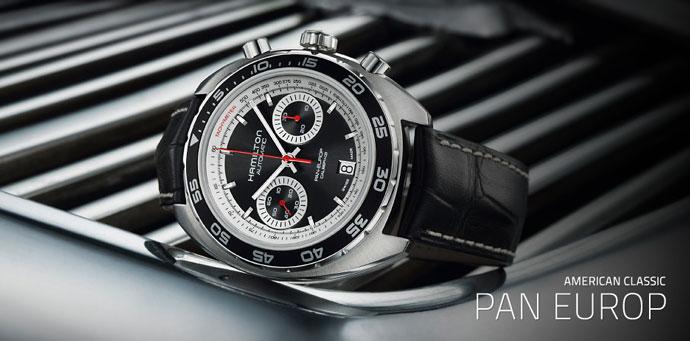 ハミルトン腕時計 Pan Europ(パンユーロ) オートクロノ