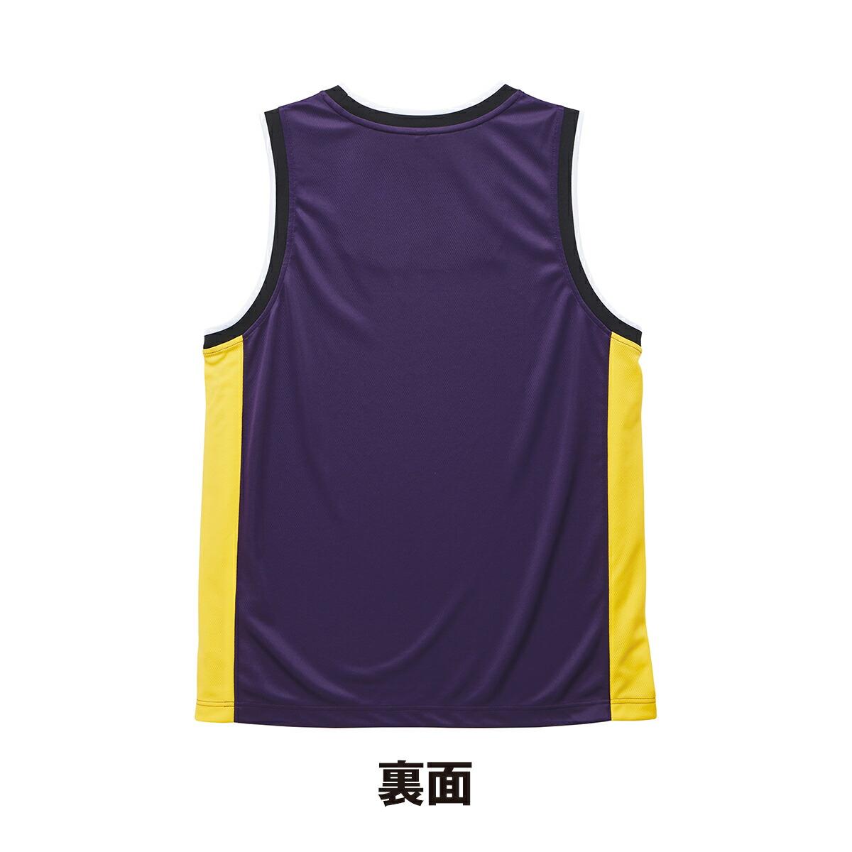 4.1オンス ドライ バスケットボールシャツ