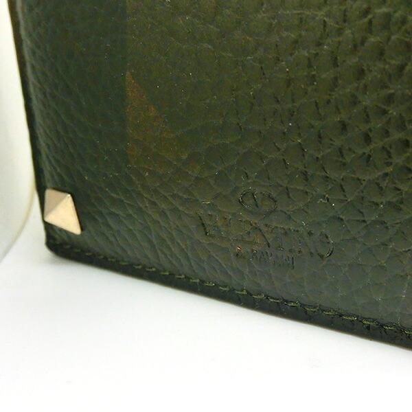 VALENTINO 二つ折り財布 迷彩柄 レザー ヴァレンティノ ガラヴァーニ カモフラージュ柄 財布 レディース メンズ my0p0654vxmy28 360840259