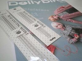 dollybird(ドーリーバード)お人形のアイテム作り用編み針