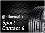 CONTINENTAL Sport Contact 6(コンチネンタル/スポーツ コンタクト6)