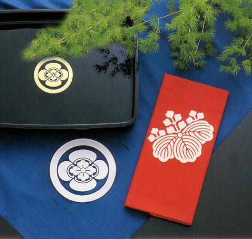 白山紬紋付
