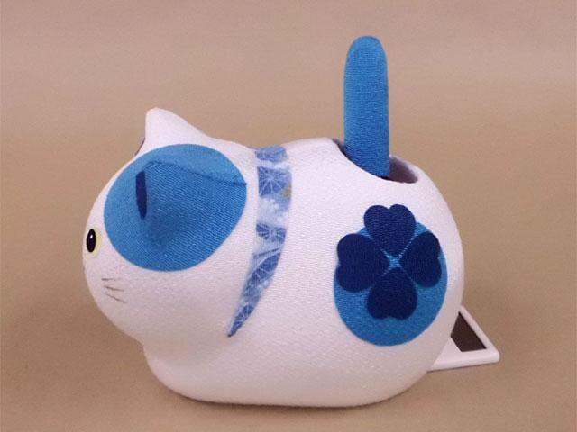 ゆらゆらソーラー 風水 座り猫