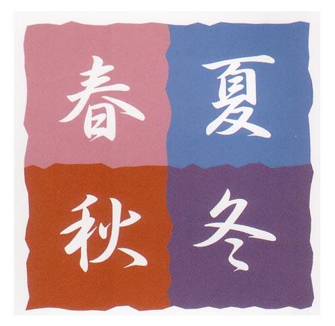 シャンタン小風呂敷(畜光染)タペストリーふろしき