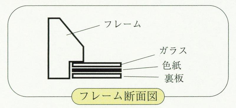 御木幽石(みきゆうせき) 色紙シリーズ Tフレーム額