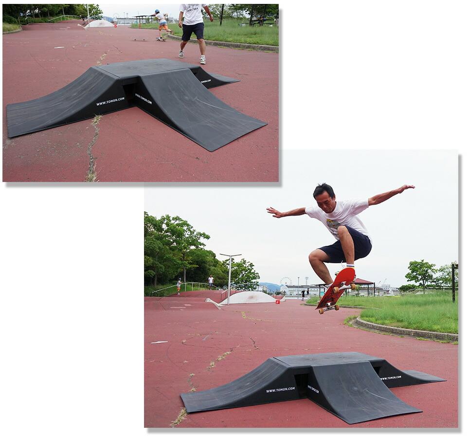 スケートボードBMXランプセット