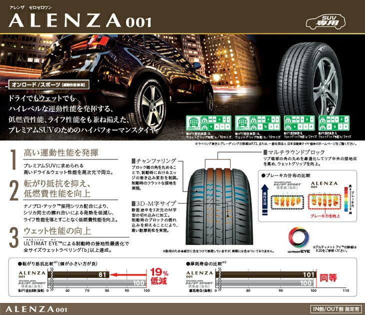 ブリヂストン タイヤ ALENZA001