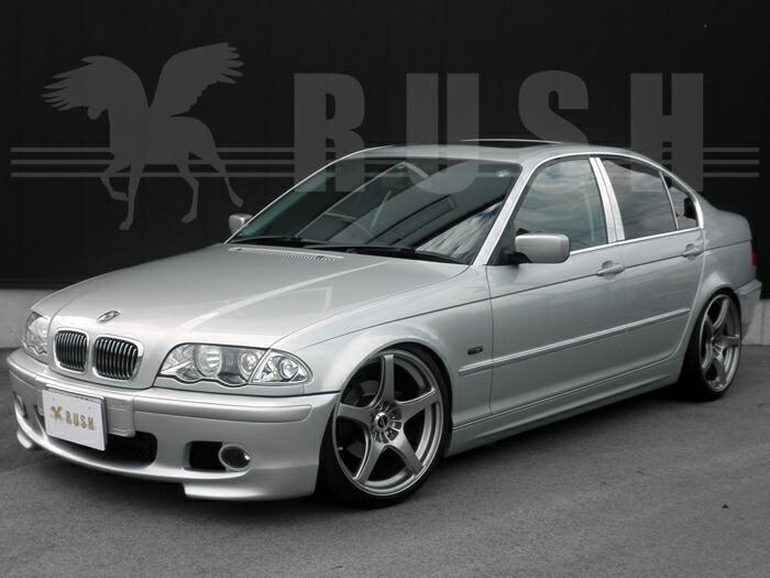RUSH車高調-E46 3シリーズセダン