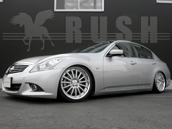 RUSH車高調 V36スカイライン