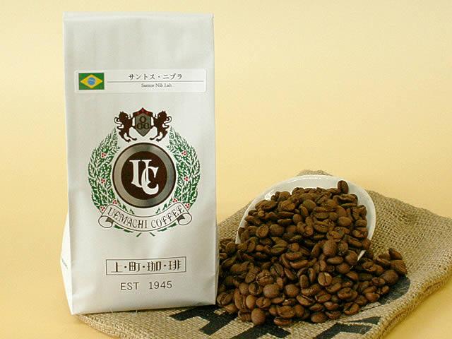 スペシャルティ コーヒー ブラジル サントス・ニブラ  (珈琲 豆/粉)100g
