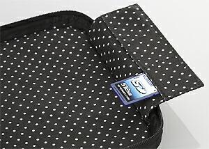ケース内側にメディアカードを収納できるインナーポケット付