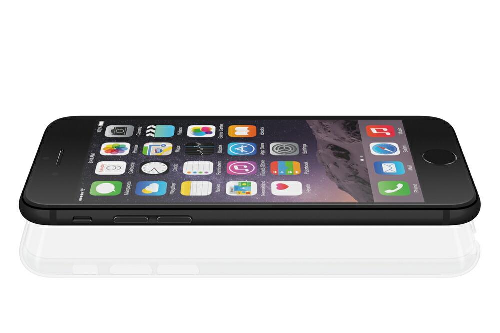 iPhone6用 ポリカーボネート製ジャケット Air Jacket(TM) set for iPhone6