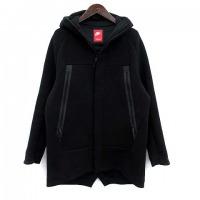 ジャケット パーカー テックフリース XL 黒 ブラック