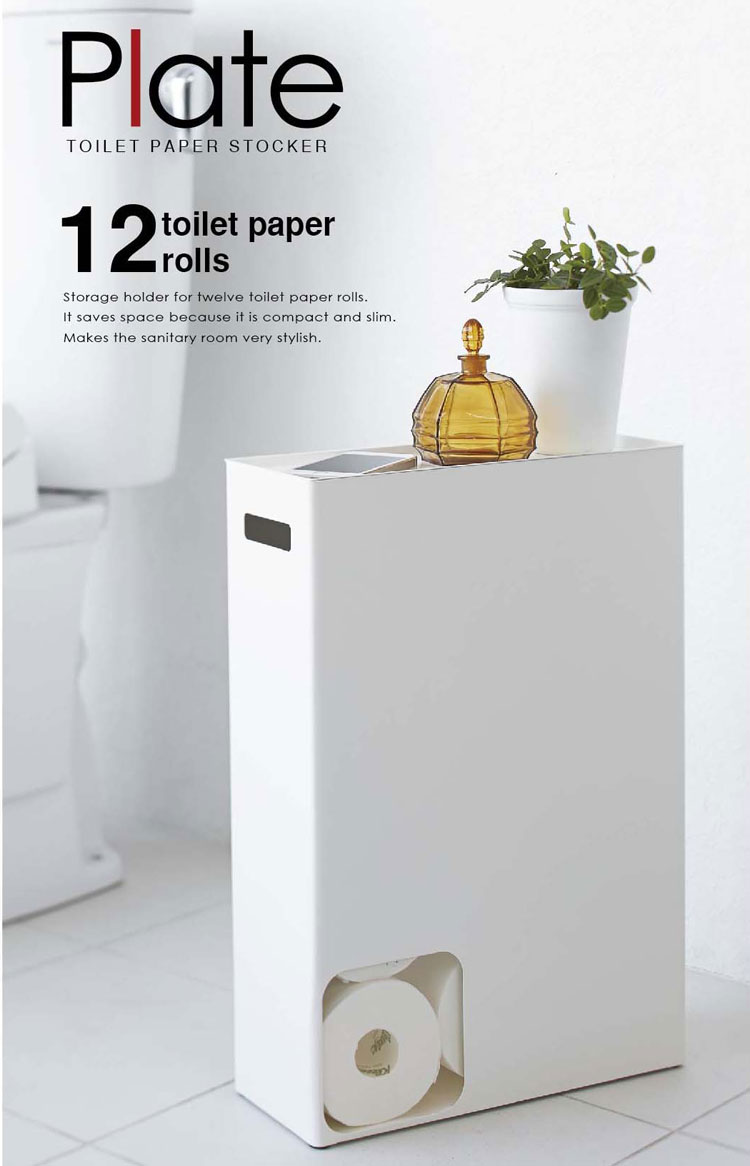 Zakkaburg rakuten global market fancy toilet paper for Loo roll storage