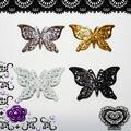 高品質メタル蝶