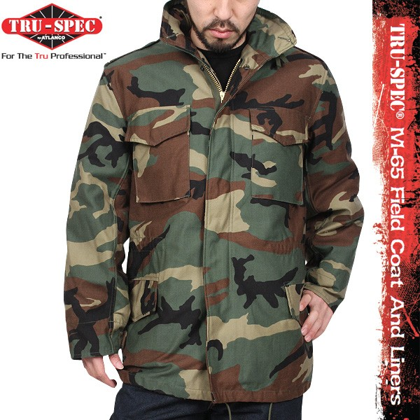 19c4651a18303 TRU-SPEC M-65 FIELD JACKET W/ LINERS [VARIOUS] - $119.95 : Burns ...