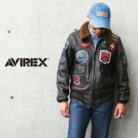 AVIREX アビレックス 6101063 ゴートスキンレザー G-1 フライトジャケット TOP GUN