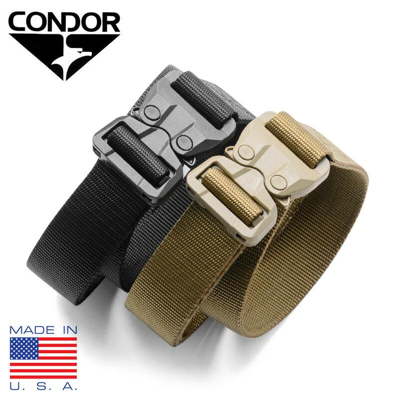 Condor GT Cobra Belt US1056-003-M Tan Medium