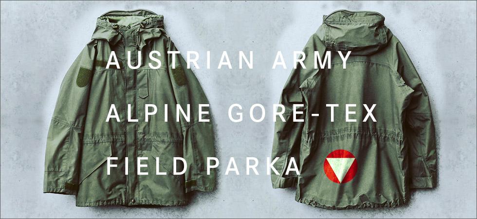 実物 USED オーストリア軍 アルパイン GORE-TEX フィールドパーカ