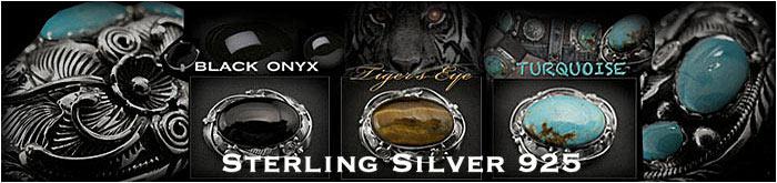 インディアン、コンチョ,Silver.Multi,stone/天然石&シルバー