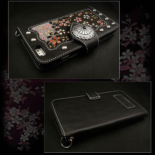 leather iphone 6 plus case handmade