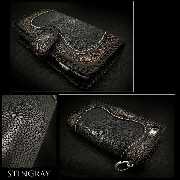 stingray iPhone 6 plus flip case wallet
