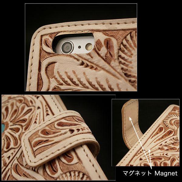handmade leather iPhone 6 iPhone 7 case