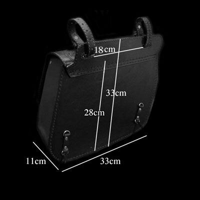 size of saddlebag