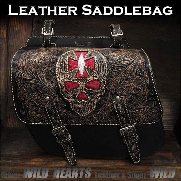 genuine,lather,Harley,saddlebag,for,sportster,XL,iron,883,forty-eight,motorcycle,single,swing,arm